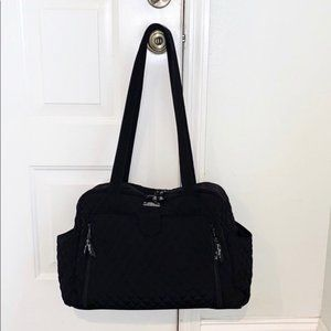 Vera Bradley Blk Diamond Quilted Ultimate Baby Bag